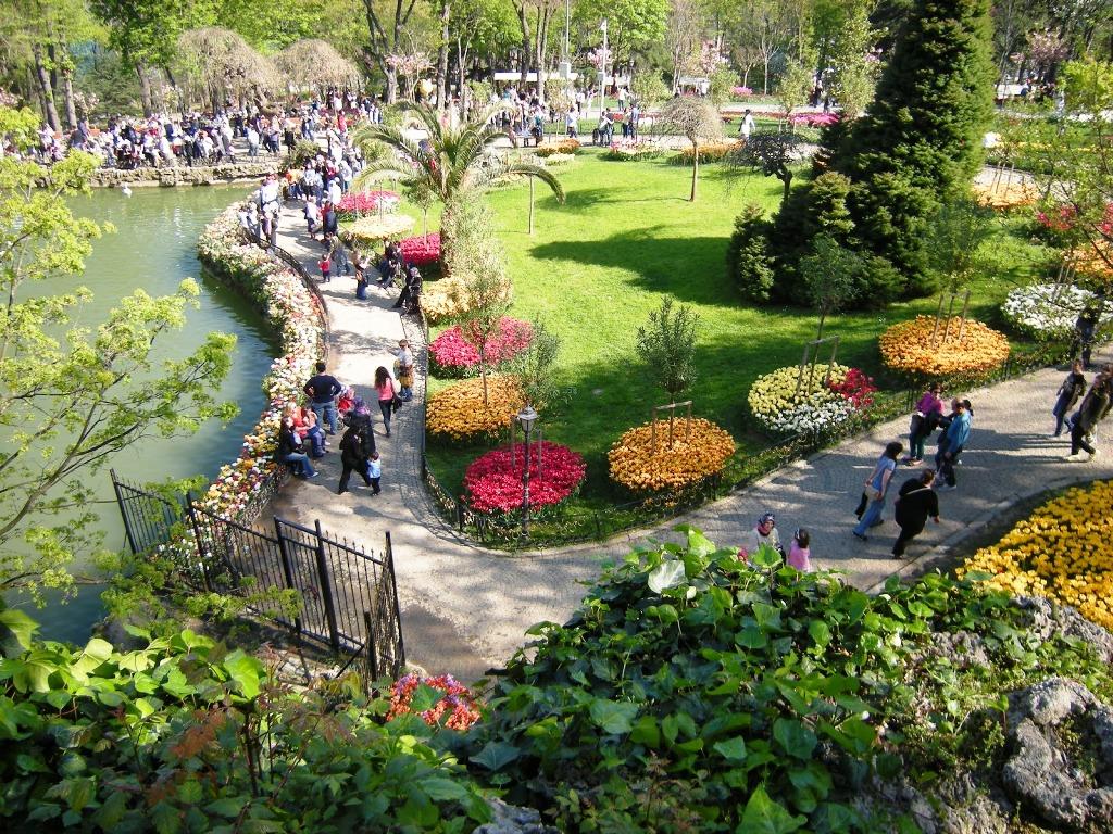 İstanbul parklarında sevgilinizle keyif zaman geçirin