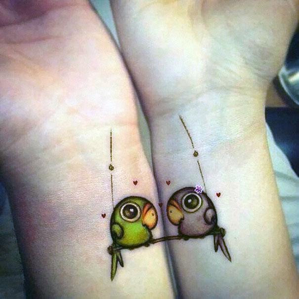 Sevgilinizle birlikte yaptırabilceğiniz dövme modelleri